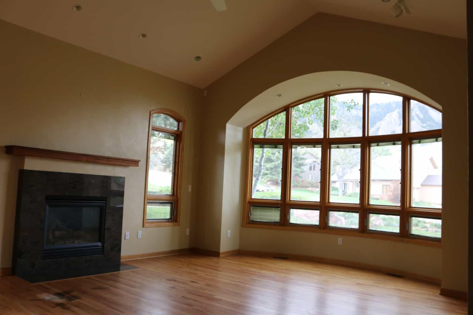 Before Remodel Living Room Window