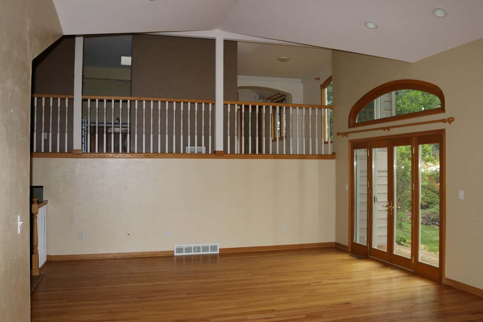 Before Remodel Living Room