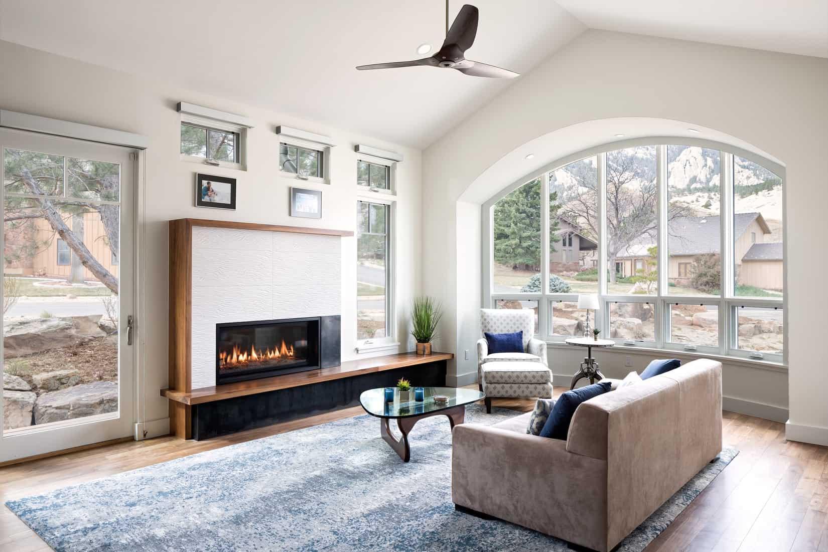 Devil's Thumb Boulder Remodel - Living Room