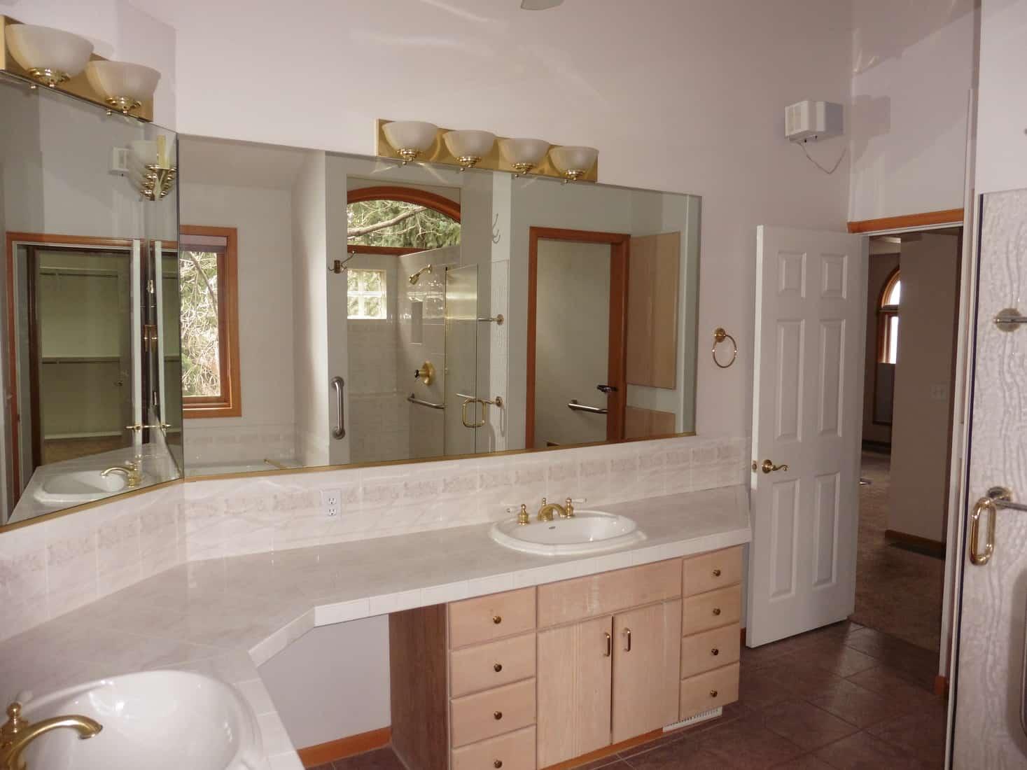 Before Remodel Master Bathroom