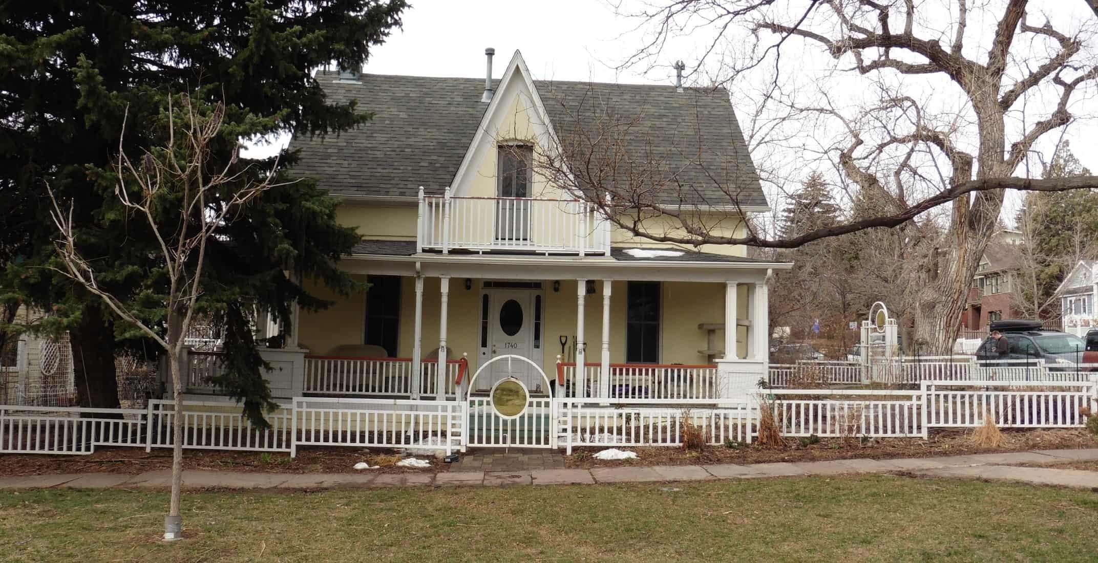 Boulder Historical Home Remodel - before exterior