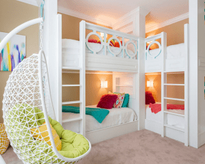 Kids Bunk Beds - Houzz.com - Beaton's Runion Resort Home