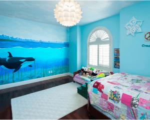 Houzz.com- Fontana Painting LLC - Whale Wall Mural