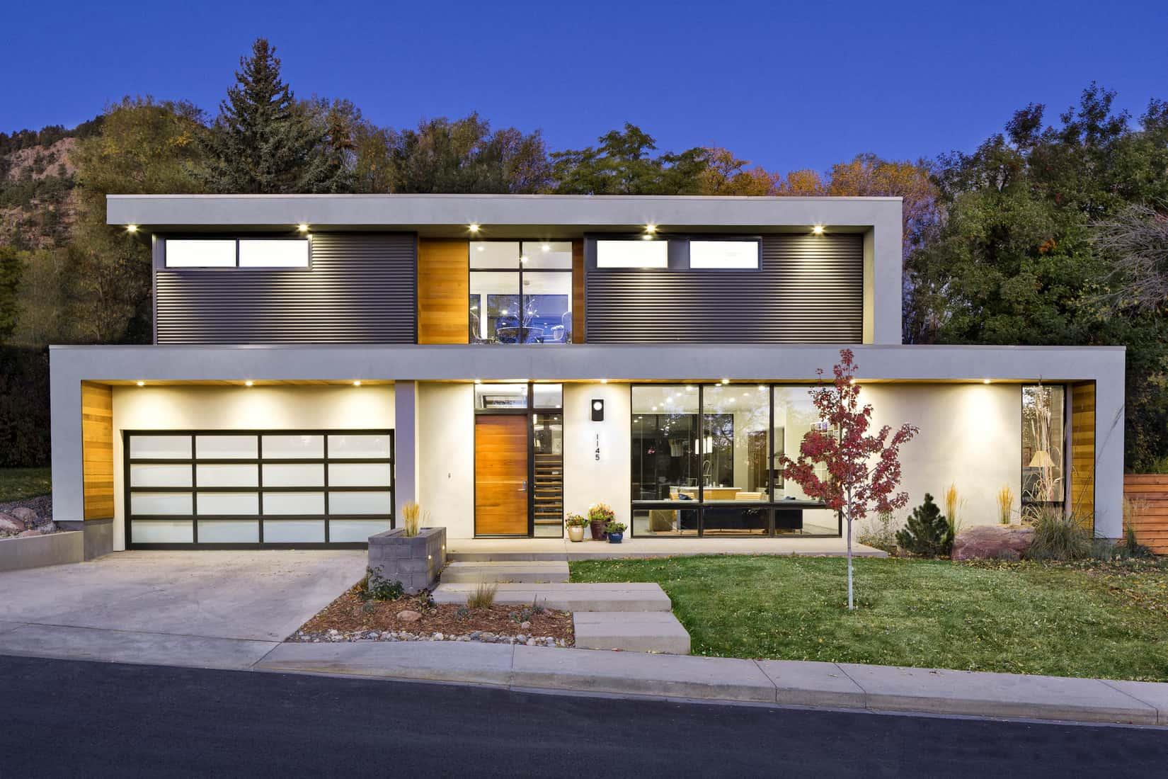 Boulder Historical Home Remodel - Exterior Design Rendering