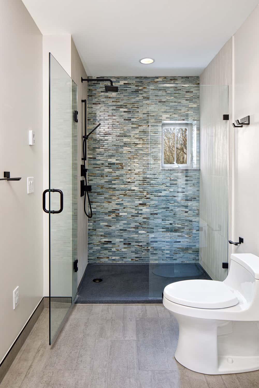 Boulder Historical Home Remodel - Main Floor Bathroom Shower