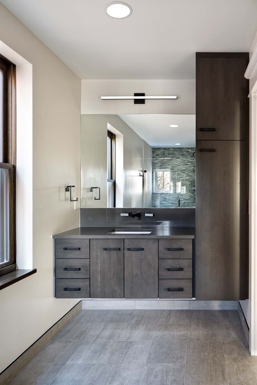Boulder Historical Home Remodel - Guest Bathroom