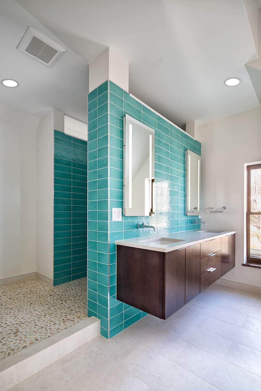 Boulder Historical Home Remodel - Master Bathroom Overall