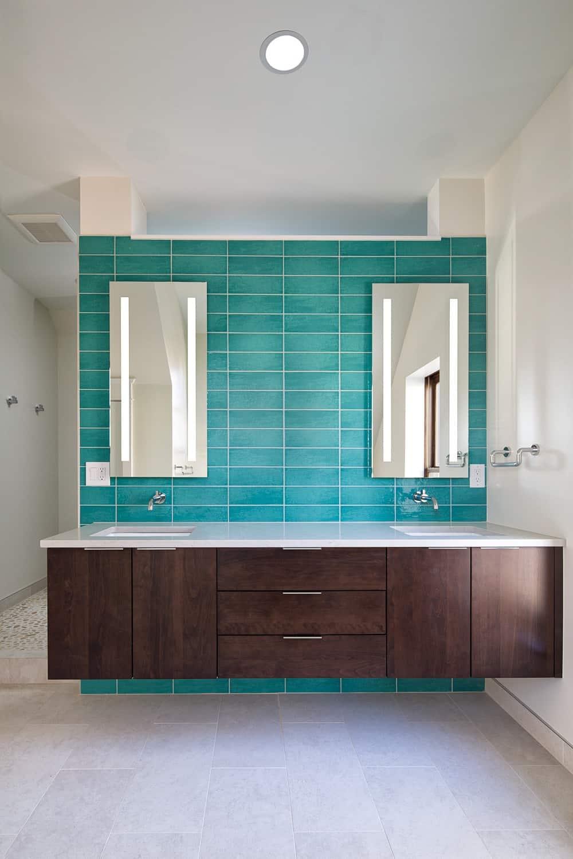 Boulder Historical Home Remodel - Master Bathroom Vanity