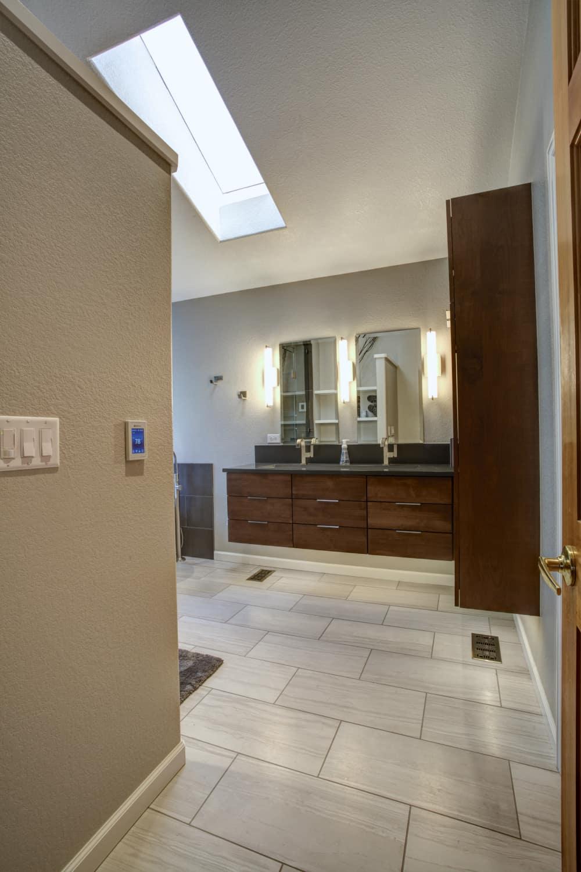 Niwot Master Bathroom Remodel - Melton Design Build - Vanity