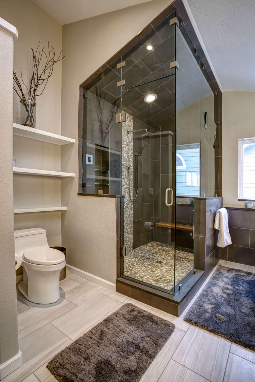 Niwot Master Bathroom Remodel - Melton Design Build - Steam Shower