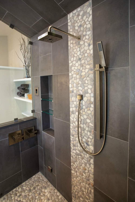 Niwot Master Bathroom Remodel - Melton Design Build - Shower Detail