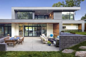 Melton Design Build - New Home Build - Back Exterior View