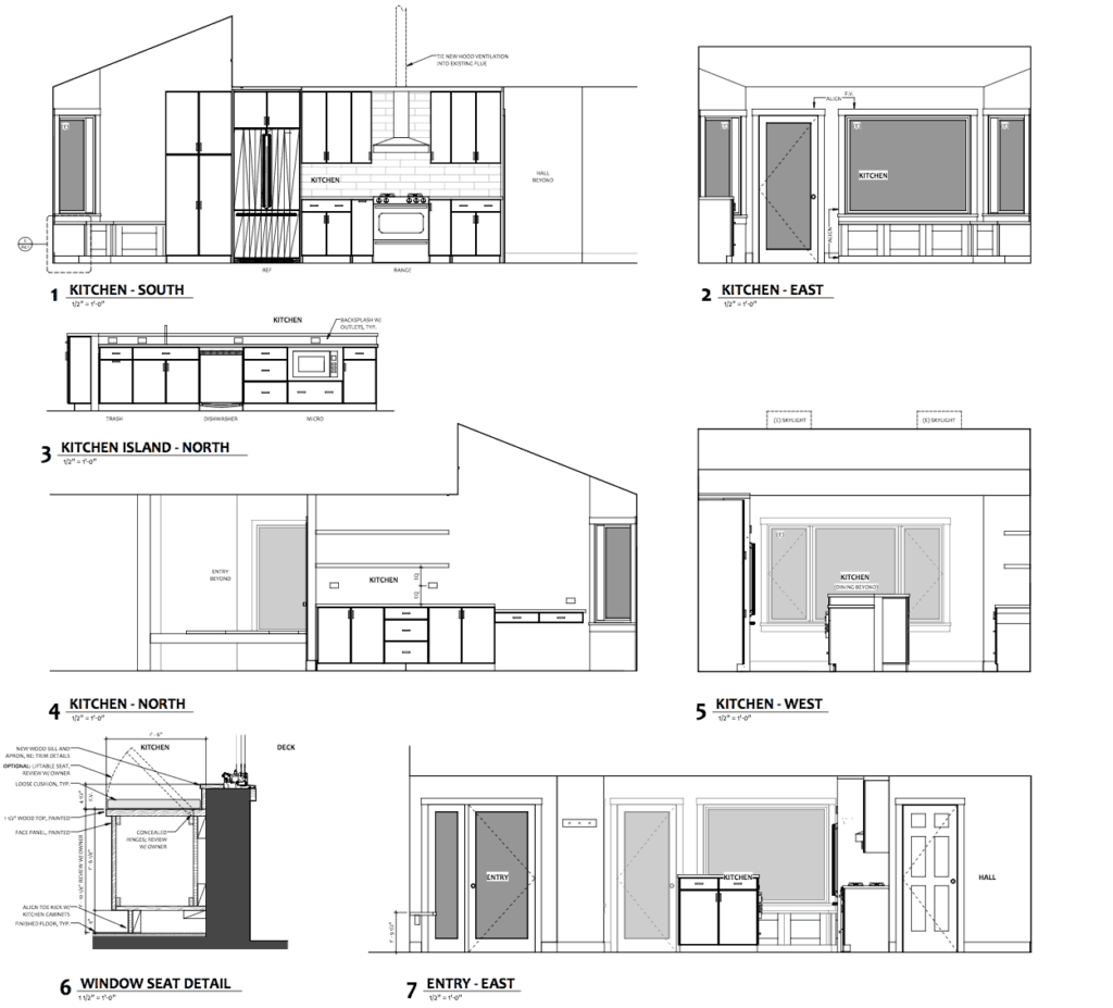 Construction Documents - Elevations