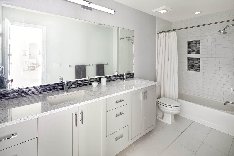 Melton Design Build - Louisville Remodel - Guest Bathroom