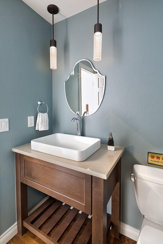 Melton Design Build - Louisville Remodel - Half Bathroom