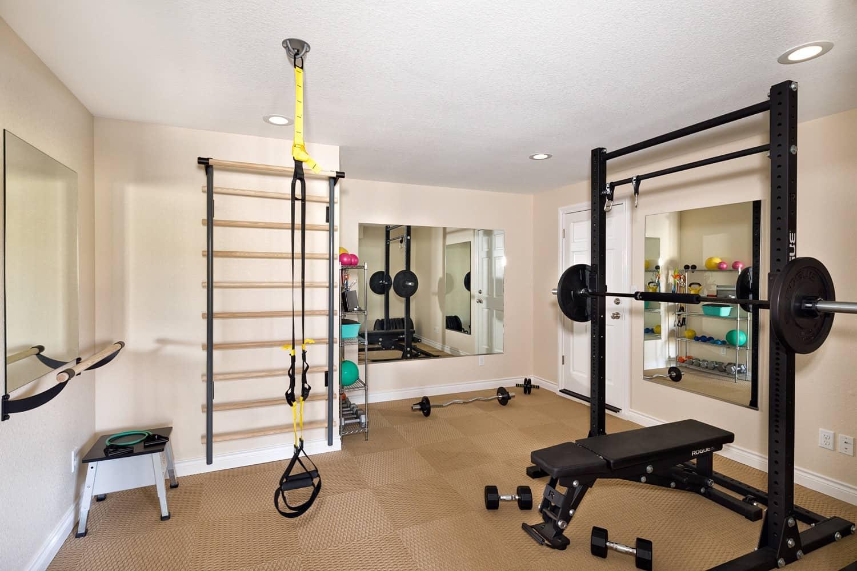 Melton Design Build - Louisville Remodel - Home Gym