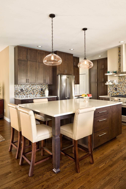 Melton Design Build - Louisville Remodel - Kitchen Remodel Island Detail