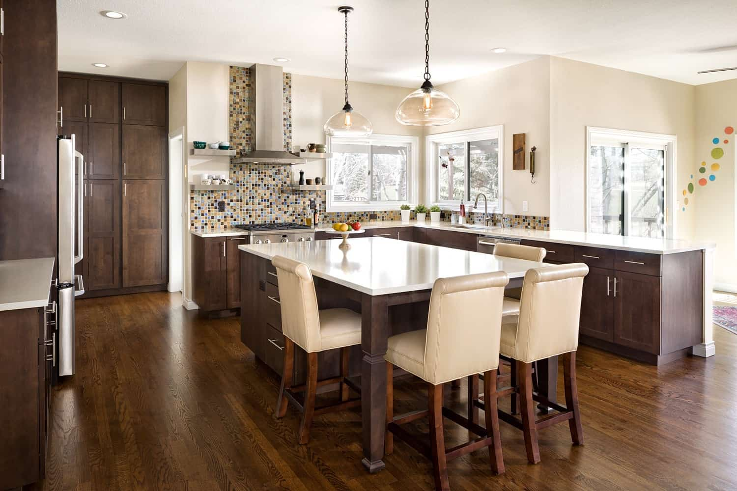 Melton Design Build - Louisville Remodel - Kitchen Remodel Overall from the South