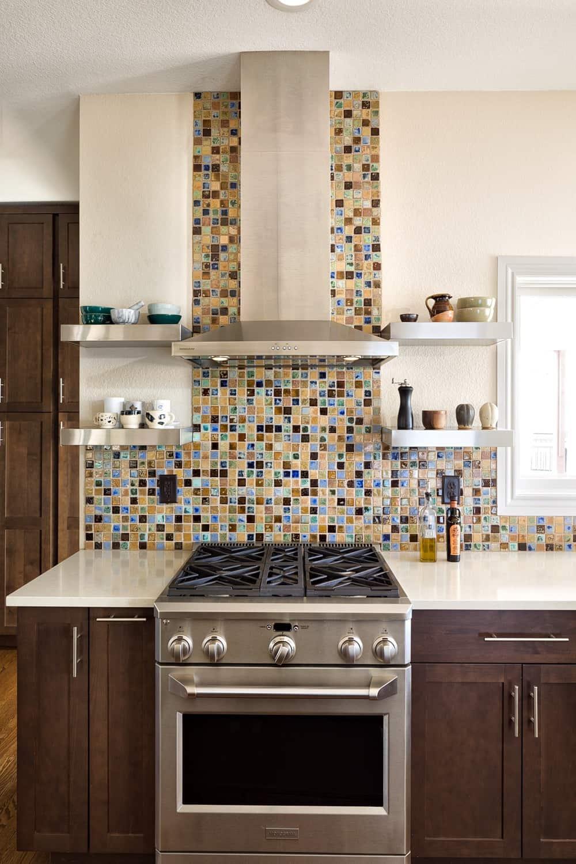 Melton Design Build - Louisville Remodel - Kitchen Remodel Range Details