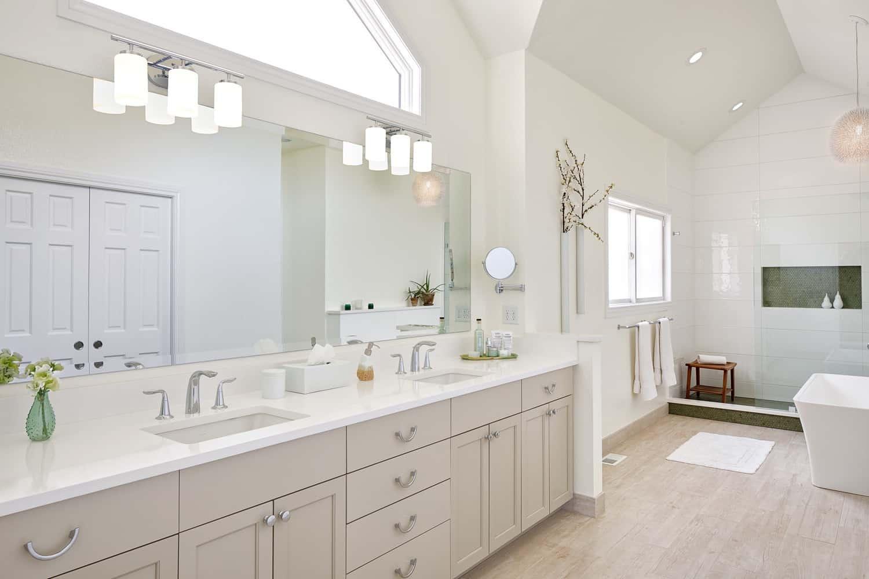 Melton Design Build - Louisville Remodel - Master Bathroom Overall