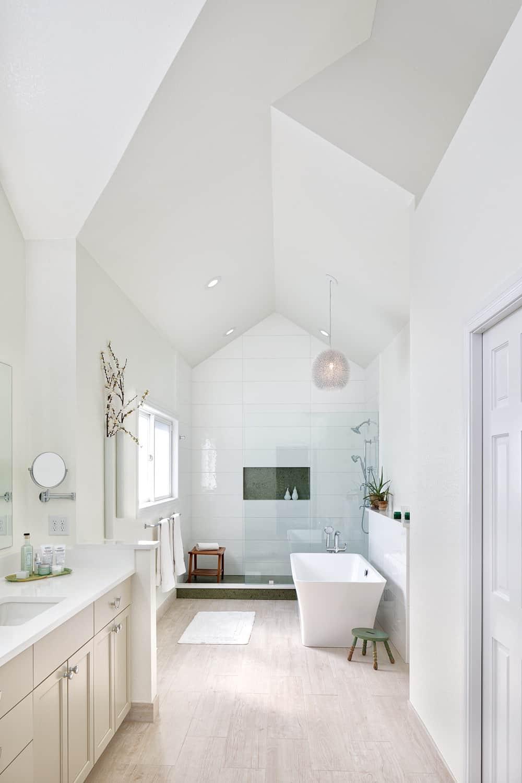 Melton Design Build - Louisville Remodel - Master Bathroom Vertical Overall Image