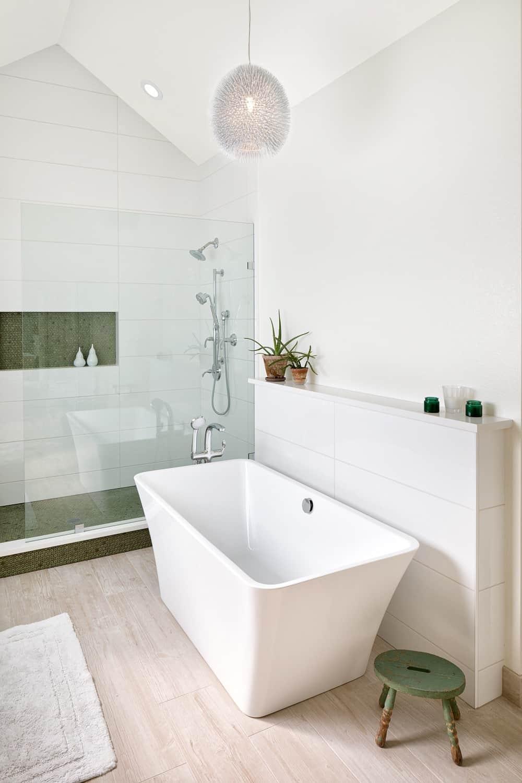 Melton Design Build - Louisville Remodel - Master Bathroom Tub Detail