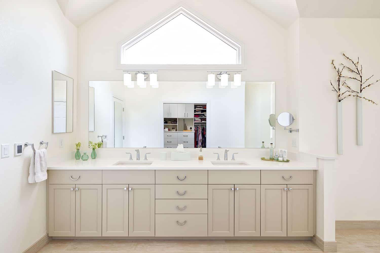 Melton Design Build - Louisville Remodel - Master Bathroom Vanity