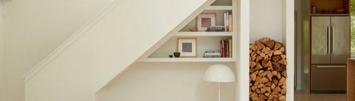 Boulder Colorado Melton Design Build Home Renovation Space Under Staircase